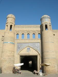 la porta est di Ichon-Qala (Khiva)