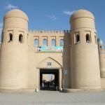 porta est di Khiva (Uzbekistan)