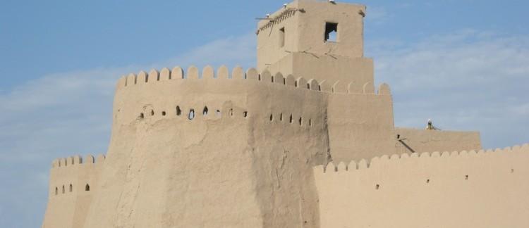 città vecchia di Khiva, mura (Uzbekistan)