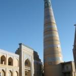 medressa e minareto Islom-Hoja a Ichon-Qala (Khiva, Uzbekistan)