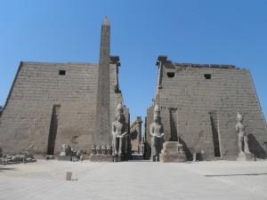 Tempio di Luxor, primo pilone (Egitto)