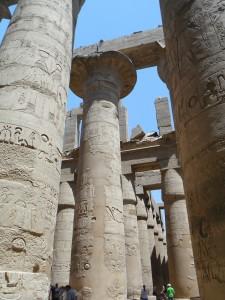 al Tempio di Karnak, Luxor (Egitto)