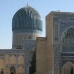 mausoleo Gur-e-Amir (Samarcanda, Uzbekistan)