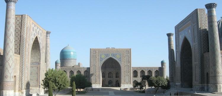 Registan (Samarcanda, Uzbekistan)
