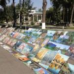 nei pressi di piazza Mustaqillik (Tashkent, Uzbekistan)