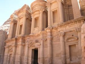 il Monastero al Deir di Petra (Giordania)