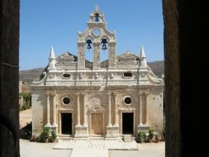 Chiesa di Moni Arkadi a Creta (Grecia)