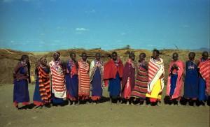 Donne masai al Parco Amboseli (Kenya)