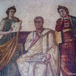 Museo del Bardo - mosaico raffigurante Virgilio (Tunisia)