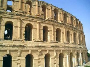 anfiteatro di El Jem (Tunisia)