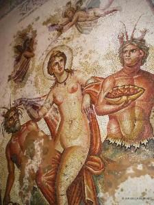 mosaico romano a Bulla Regia (Tunisia)