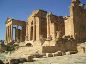 templi a Sbeitla (Tunisia)