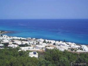 vista sul golfo di Kelibia (Tunisia)