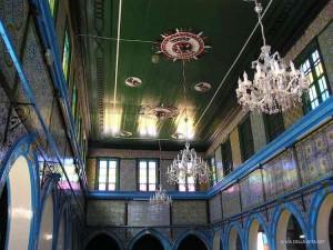 la sinagoga El Ghriba a Djerba (Tunisia)