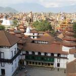 vista da Basantapur Durbar (Kathmandu, Nepal)