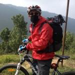 appena oltrepassato Nagarkot (Nepal)