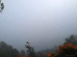 alba mancata a Nagarkot (Nepal)
