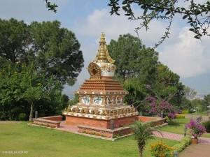 giardino del Monastero di Kopan (Nepal)