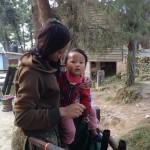 nel bosco di Nagarkot (Nepal)