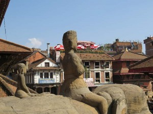 vista dal Tempio di Bhimsen (Patan, Nepal)