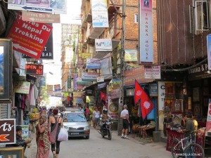 Thamel di giorno (Kathmandu, Nepal)