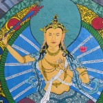murales nel quartiere Thamel (Kathmandu, Nepal)