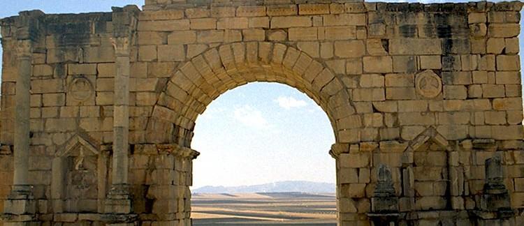 Arco di Trionfo (Volubilis, Marocco)
