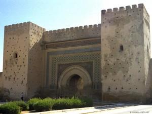 presso Bab el Mansour (Meknes, Marocco)