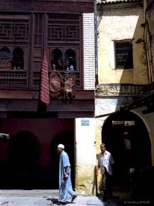 nella medina di Meknes (Marocco)