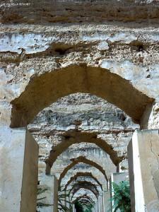 scuderie reali, arcata (Meknes, Marocco)