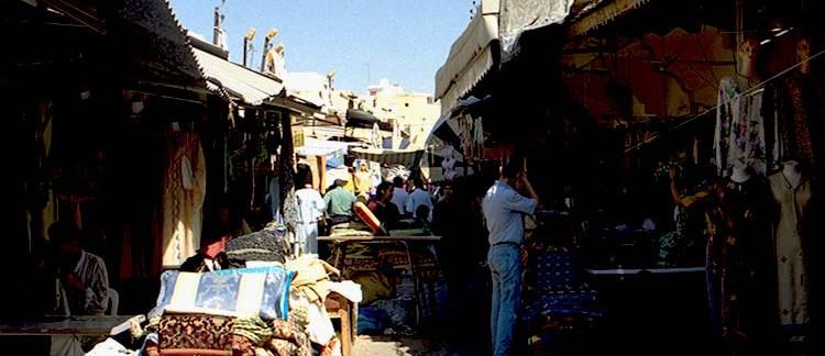 souq (Meknes, Marocco)
