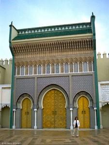 Palazzo Reale, facciata (Fes, Marocco)