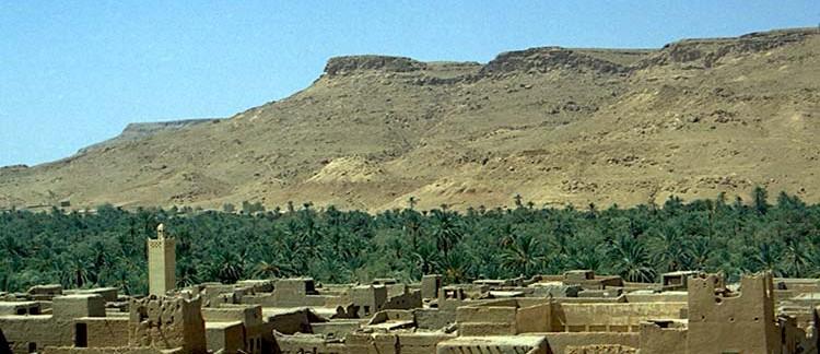 nella Valle dello Ziz (Marocco)