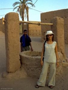 sulla via per la kasba (Zagora, Marocco)