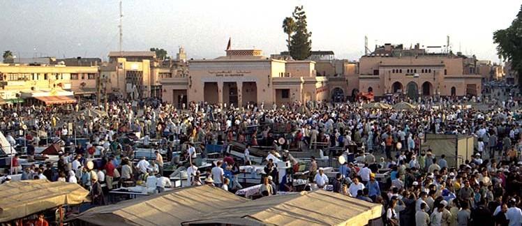 Jemaa el Fna (Marrakech, Marocco)