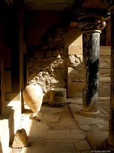 Palazzo di Cnosso, giare (Creta, Grecia)