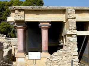 Palazzo di Cnosso, propileo (Creta, Grecia)