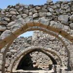 Qasr Azraq, arcata (Giordania)
