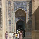 Shah-i-Zinda a Samarcanda (Uzbekistan)
