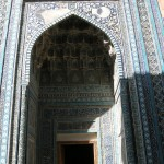 Shah-i-Zinda, porta (Samarcanda, Uzbekistan)