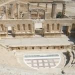 Teatro nord (Jerash, Giordania)