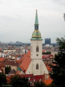 campanile Cattedrale di San Martino (Bratislava, Slovacchia)