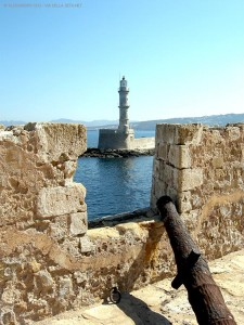 Chania, vista dall'Arsenale (Creta, Grecia)