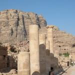 strada colonnata a Petra (Giordania)