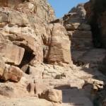 ascesa per al-Deir (Petra, Giordania)