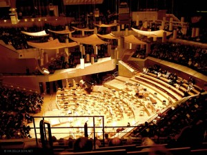 Philharmonie, interno (Berlino, Germania)