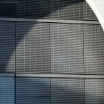 edificio lungo la Sprea, particolare (Berlino, Germania)