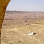 panorama nei pressi di Chenini (Tunisia)