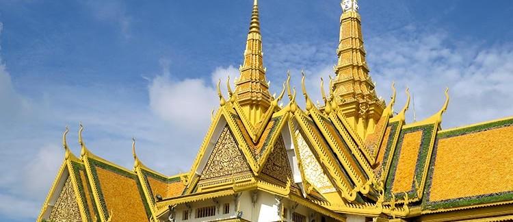 Palazzo Reale, giardini interni (Phnom Penh, Cambogia)