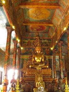 vihara del Wat Phnom (Phnom Penh, Cambogia)